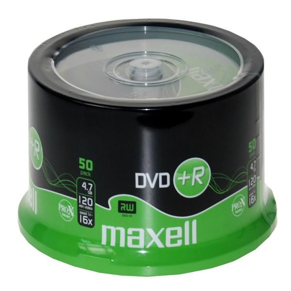 MAXELL DVD+R 16X 50LI CB - ...